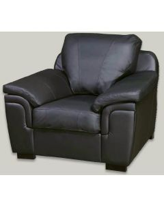 AMY Faux Leather Armchair