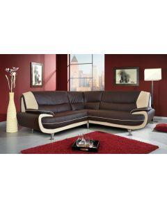 Palermo Faux Leather Corner Sofa