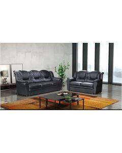 TEXAS Faux Leather Sofa Set